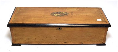 Lot 3054 - A Musical Box Playing Twelve Airs, Almost Certainly By B. A. Bremond, circa 1890, with single...