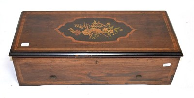 Lot 3055 - A Good Piano-Forte Two-Per-Turn Musical Box, By Nicole Frères, serial No. 43287, Gamme No....