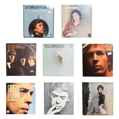 Lot 3057 - Tim Buckley Vinyl LPs two Starsailors, Blue Afternoon and Tim Buckley; together with The...