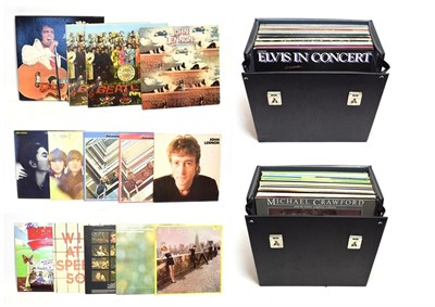 Lot 3058 - Various Records including The Beatles: Sgt Pepper mono and stereo version, For Sale gate fold...