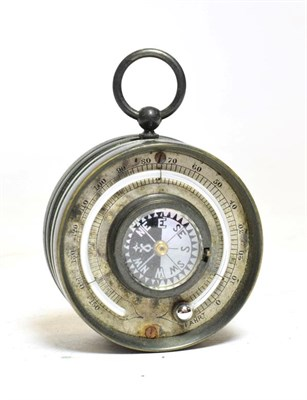 Lot 3077 - Thomas Armstrong & Brother Pocket Compensated Barometer 1 7/8'' diameter, with barometer to one...