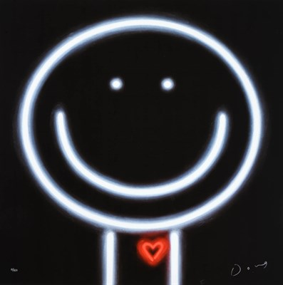 Lot 1000 - Doug Hyde (b.1972) ''Heart Throb'' Signed and numbered 11/150, limited edition on metal, 76cm...