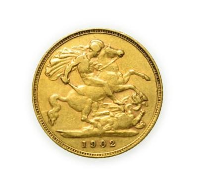 Lot 4070 - Edward VII, 1902 Half-Sovereign. Obv: Bare head of Edward VII right, DES below truncation for...