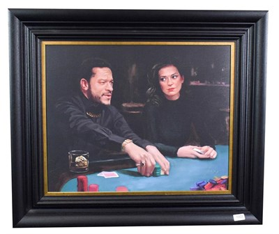 Lot 1002 - Vincent Kamp (Contemporary) ''Antoine's Last Move'' Signed and numbered 72/150, giclee print on...