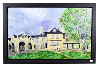 Lot 1012 - Katharine Dove (Contemporary) ''Campden Summer (Chipping Campden)'' Initialled, inscribed verso and