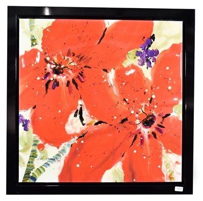 Lot 1022 - Danielle O'Connor Akiyama (Contemporary) Canadian ''Journey II'' Signed and numbered 12/195, glazed