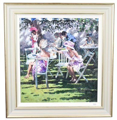 Lot 1025 - Sherree Valentine Daines (b.1956) ''Champagne in the Shadows'' Signed and numbered 70/195,...