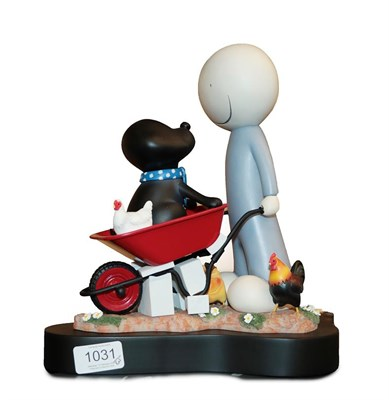 Lot 1031 - Doug Hyde (b.1972) ''Daisy Trail'' Signed and numbered 368/595, cold cast porcelain, 29cm high...