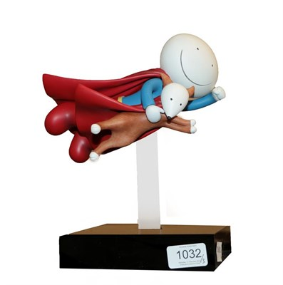 Lot 1032 - Doug Hyde (b.1972) ''Is it a Bird? Is it a Plane?'' Signed and numbered 89/395, cold cast...