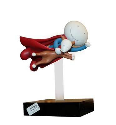 Lot 1033 - Doug Hyde (b.1972) ''Is it a Bird? Is it a Plane?'' Signed and numbered 4/395, cold cast porcelain
