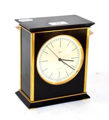 Lot 13 - A Hermes quartz Precision mantel timepiece, model 1139 18cm