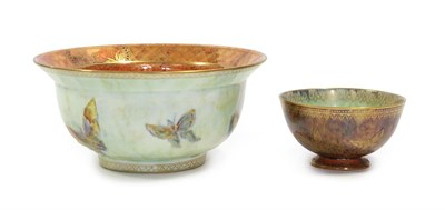 Lot 2017 - A Wedgwood Fairyland Ordinary Lustre Bowl, designed by Daisy Makeig-Jones, decorated with...