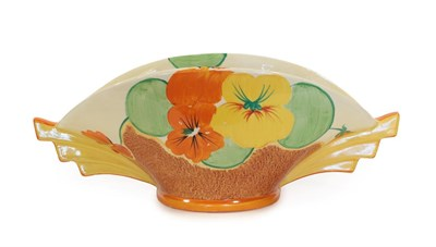 Lot 2032 - Clarice Cliff (1899-1972): A Bizarre Nasturtium 450 Daffodil Bowl, printed factory marks and...