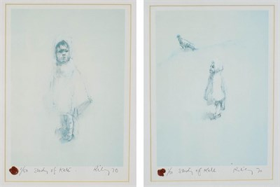 Lot 1009 - Harold Riley (b.1934) ''Study of Kate'' Signed and dated (19)70, inscribed and numbered 1/5,...