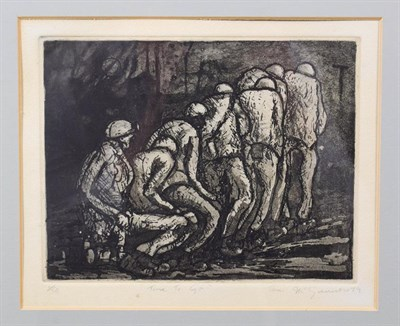 Lot 1010 - Tom McGuinness (1926-2006)  ''Time to Go'' Signed, inscribed and dated (19)79, numbered 1/50,...