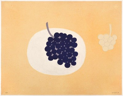 Lot 1023 - William Scott (1913-1989) ''Grapes'' Signed and dated (19)79, numbered 50/150, lithograph,...