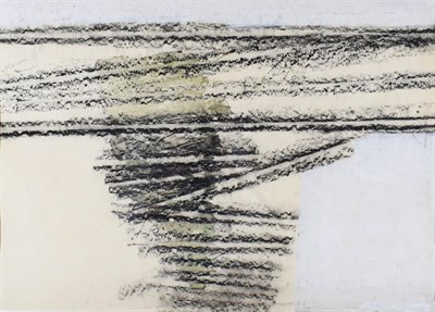 Lot 1029 - Clifford Fishwick (1923-1997) ''Stockade''  Signed, inscribed and dated 1963 verso reputedly, mixed