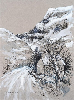 Lot 1039 - Peter Brook RBA (1927-2009) ''Abandonment'' Signed, inscribed and dated, mixed media, 38.5cm by...