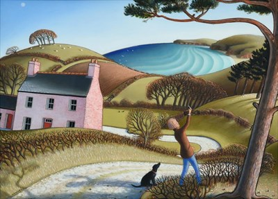Lot 1075 - Jonathan Armigel Wade (b.1960) ''Seeking a Signal'' Signed, inscribed verso and numbered 1840,...