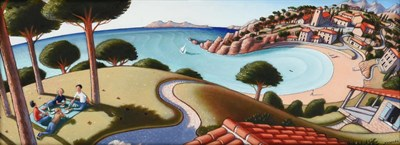 Lot 1076 - Jonathan Armigel Wade (b.1960) ''Warm Sea Breeze'' Signed, inscribed verso and numbered 20/43,...