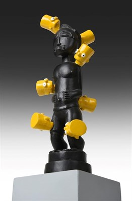 Lot 1082 - Brett Murray (b.1961) South African ''Africa Maquette'' Initialled and numbered 15/15 bronze...