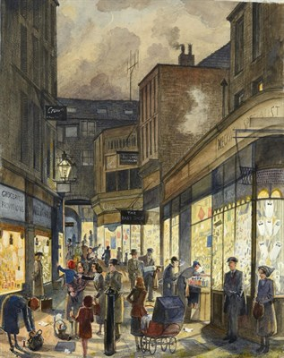 Lot 5 - Frederick (Fred) Cecil Jones RBA (1891-1966) ''Huddersfield'' Indistinctly signed, inscribed...