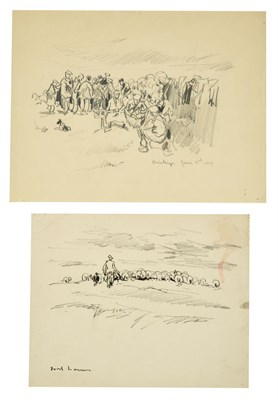 Lot 18 - Frederick (Fred) Lawson (1888-1968)  ''Drinkings'' Inscribed and dated June 3rd 1947, together with