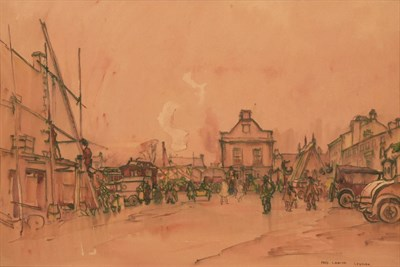 Lot 28 - Frederick (Fred) Lawson (1888-1968)  ''Leyburn'' Fair Signed and inscribed, ink and...