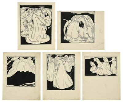 Lot 45 - Muriel Metcalfe (1910-1994)  ''Godmother's Wish'' Signed and inscribed, black ink, together...