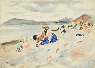 Lot 59 - Philip Naviasky (1894-1983) ''Killiney'', Ireland Signed, inscribed and dated 1934, pencil and...