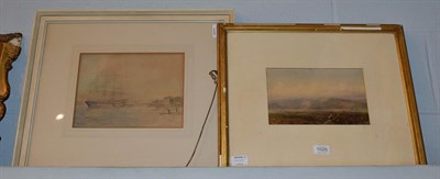 Lot 1026 - Philip Connard RA, the Arethusa Training Ship, signed watercolour, 38cm by 48cm, provenance; FR...