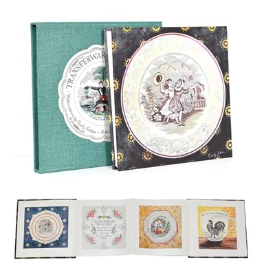 Lot 6 - Sutton (Emily) Transferware Treasures, watercolours by Emily Sutton, Upper Denby: The Fleece Press