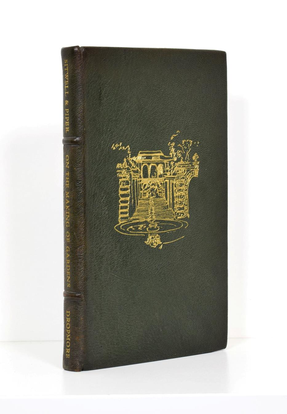 Lot 16 - Sitwell (Sir George) - Piper (John) On the Making of Gardens, Dropmore Press, 1949, numbered...