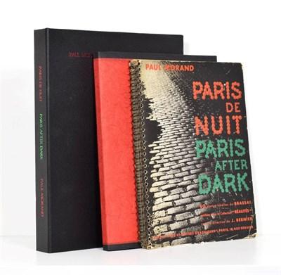 Lot 17 - Morand (Paul) Paris de Nuit, Paris After Dark, Paris: Arts et Metiers Graphique, no date...