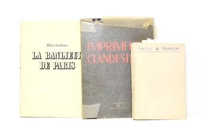 Lot 18 - Cendrars (Blaise) La Banlieue de Paris, Paris: Pierre Seghers, 1949, illustrated with 130...