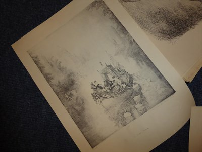 Lot 19 - After Lindsay (Norman) 1879-1969 A very large collection of limited edition monochrome prints,...