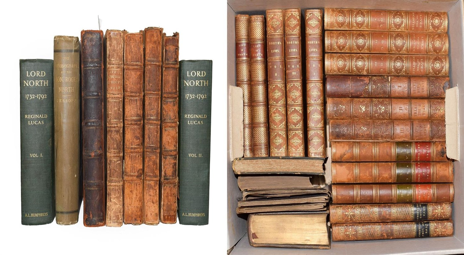 Lot 26 - North (Roger) The Life of the Right Honourable Francis North, Baron of Guilford ..., John...