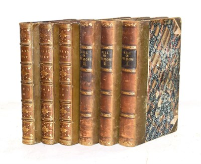 Lot 27 - Eliot (George) The Mill on the Floss, William Blackwood, 1860, first edition, printing not...