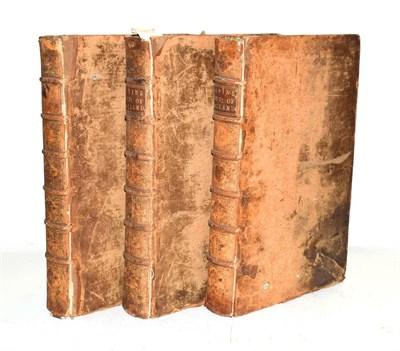 Lot 29 - Rapin de Thoyras [Paul] The History of England, ..., James Mechell, 1732-35, three folio...