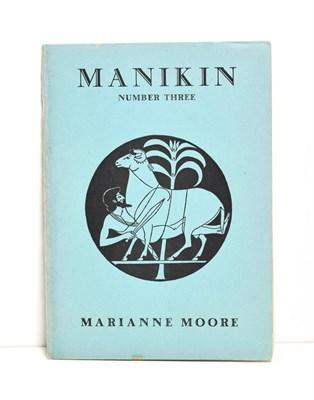 Lot 37 - Moore (Marianne) Marriage (in Manikin Number Three), New York: Monroe Wheeler, no date, Miss...