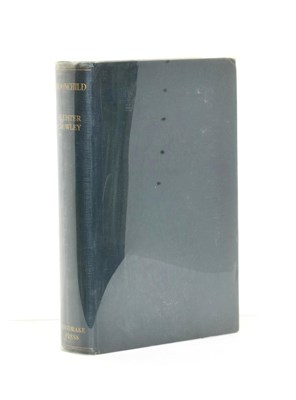 Lot 48 - Crowley (Aleister) Moonchild, A Prologue, The Mandrake Press, 1929, first edition, original cloth