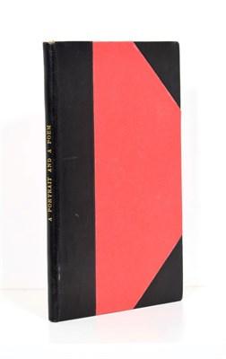 Lot 50 - [Benet (Stephen Vincent)] A Portrait and A Poem, Paris: private publication, 1934, numbered limited