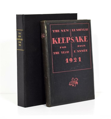 Lot 51 - Boulestin (X.M.) edit. The New Keepsake for the Year 1921, Chelsea Book Club, 1920, numbered...