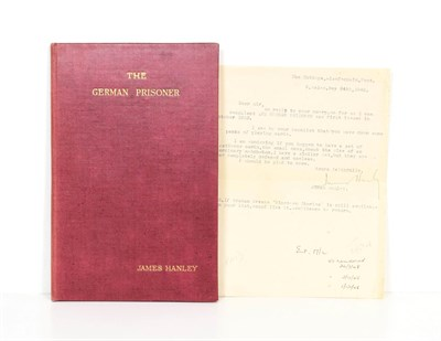 Lot 52 - Hanley (James) The German Prisoner, private printing, [1930], numbered limited edition of 500,...