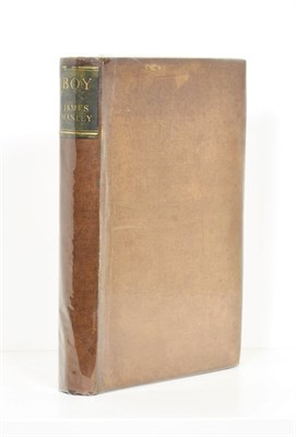 Lot 53 - Hanley (James) Boy, Boriswood, 1931, numbered limited edition of 145 (+15) , signed by the...