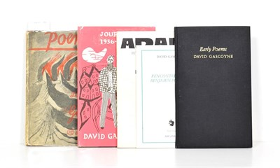Lot 57 - Gascoyne (David) Poems. 1987-1942, Nicholson and Watson, 1943, first edition, title and five plates