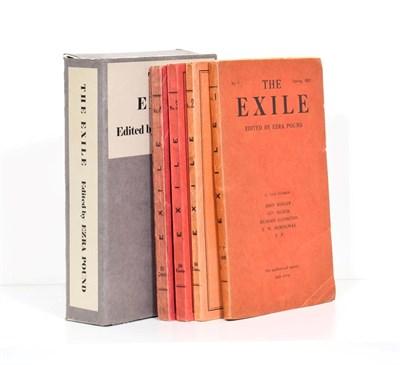 Lot 58 - Pound (Ezra) edit. The Exile, Nos. 1 to 4, Dijon and Chicago, Spring 1927 - Autumn 1928, four...