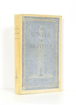 Lot 62 - Nin (Anais) The Winter of Solice, Paris: The Obelisk Press, no date, first edition, ownership...