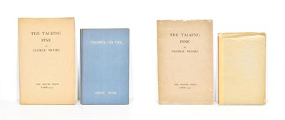 Lot 64 - Moore (George) Peronnik the Fool, Chapelle-Reanville: The Hours Press, 1928, numbered limited...