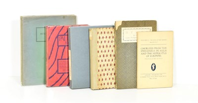 Lot 71 - 'H.D.' [Doolittle (Hilda)] Palimpsest, Paris: Contact Editions, 1926, signed by the author in...
